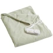 Biddeford Blankets Comfort Knit Heated Cotton Throw; Sage