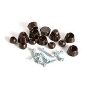 Slipstick Swivel Slider Floor Protector (Set of 8); Chocolate