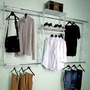 KiO 96''W Closet System; Frost