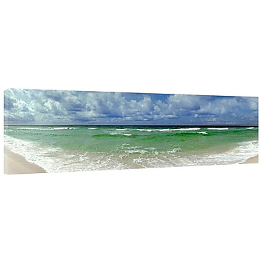 Colossal Images High Tide Photographic Print on Wrapped Canvas