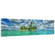 Great Big Photos Paradise Island Photographic Print on Wrapped Canvas