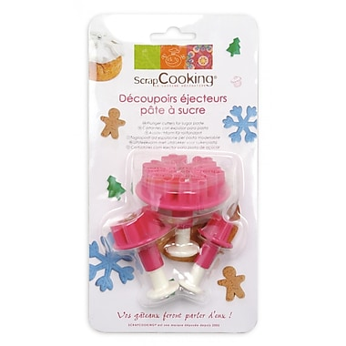 ScrapCooking Plunger Cutters for Fondant
