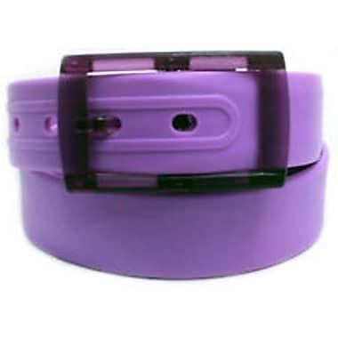Colourful Silicone Waist Belt, Purple
