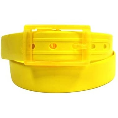 Colourful Silicone Waist Belt, Yellow