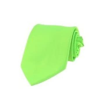 Casual Stylish Slim Necktie, Neon Green