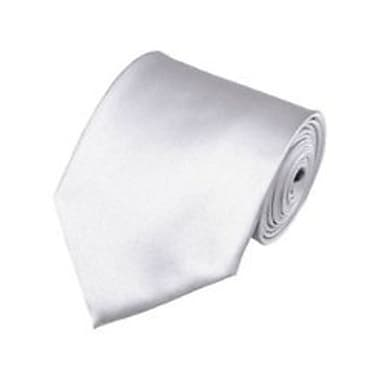 Casual Stylish Slim Necktie, Silver