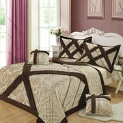 DaDa Bedding Classic Bedspread 5 Piece Quilt Set; Twin