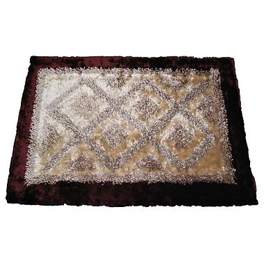 DaDa Bedding Shaggy Doormat; 4' x 6'