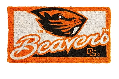 Team Sports America NCAA Oregon State Welcome Graphic Printed Doormat