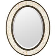 """Quoizel Monterey Mosaic MY430242ML 30""""H x 24""""W Wall Mirror, Malaga"""