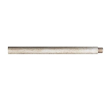 Quoizel 9012EXOS Mini Pendant Extension Rod, Old Silver
