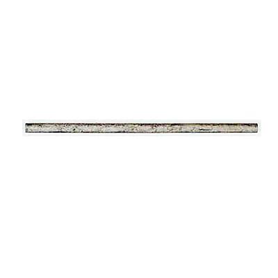 Quoizel 9012EXMM Mini Pendant Extension Rod, Mottled Silver