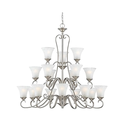 Quoizel DH5018AN Incandescent Chandelier, Antique Nickel