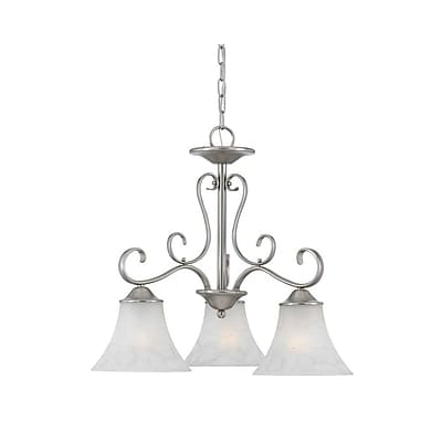Quoizel DH5103AN Incandescent Chandelier, Antique Nickel