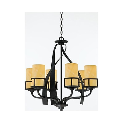 Quoizel KY5006IB Incandescent Chandelier, Imperial Bronze