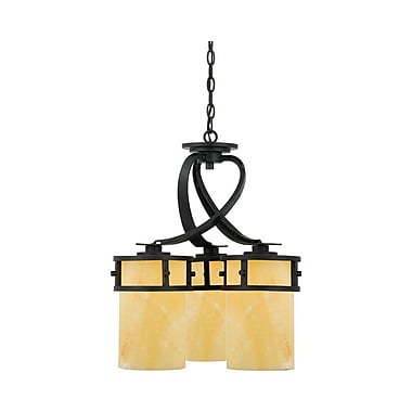 Quoizel KY5103IB Incandescent Chandelier, Imperial Bronze