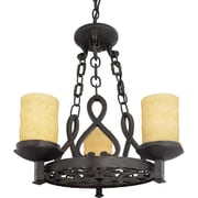Quoizel LP5003IB Incandescent Chandelier, Imperial Bronze