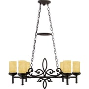 Quoizel LP639IB Incandescent Chandelier, Imperial Bronze