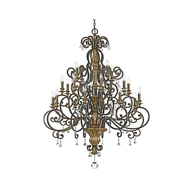 Quoizel MQ5020HL Incandescent Chandelier, Heirloom