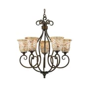 Quoizel MY5005ML Incandescent Chandelier, Malaga
