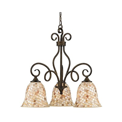 Quoizel MY5103ML Incandescent Chandelier, Malaga