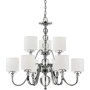 Quoizel DW5009C Incandescent Chandelier, Polished Chrome