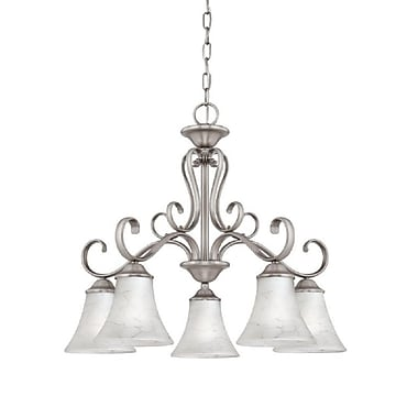 Quoizel DH5105AN Incandescent Chandelier, Antique Nickel