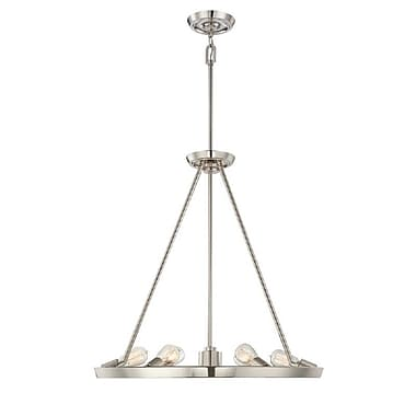 Quoizel UPTR5007IS Incandescent Chandelier, Imperial Silver