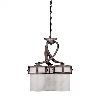 Quoizel KY5103IN Incandescent Chandelier, Iron Gate