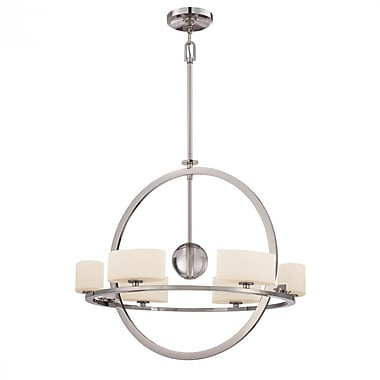 Quoizel UPCC5006IS Halogen Chandelier, Imperial Silver