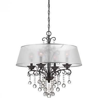 Quoizel CRE5004FR Incandescent Chandelier, French Bronze