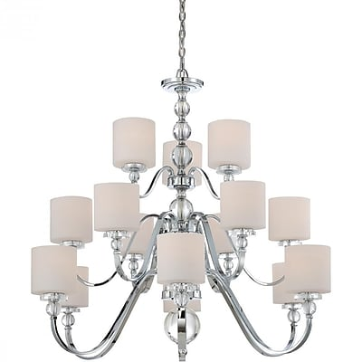 Quoizel DW5015C Incandescent Chandelier, Polished Chrome
