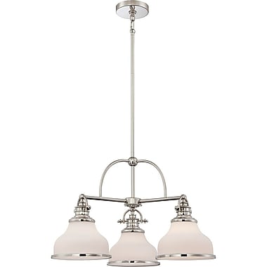 Quoizel GRT5103IS Incandescent Chandelier, Imperial Silver
