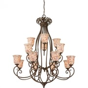 Quoizel MY5016ML Incandescent Chandelier, Malaga