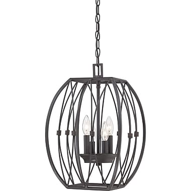 Quoizel QF1686IB Incandescent Chandelier, Imperial Bronze