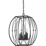 Quoizel QF1687IB Incandescent Chandelier, Imperial Bronze