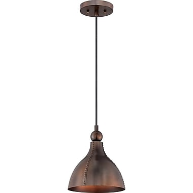Quoizel CKGN1509MZ Incandescent Mini Pendant, Mottled Bronze