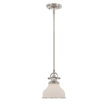 Quoizel GRT1508IS Incandescent Mini Pendant, Imperial Silver