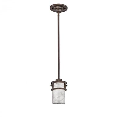 Quoizel KY1508IN Incandescent Mini Pendant, Iron Gate