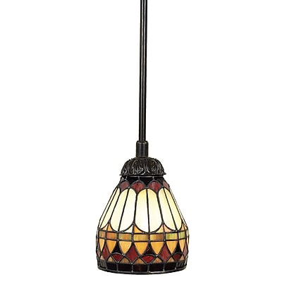 Quoizel TF1541VB Incandescent Mini Pendant, Vintage Bronze