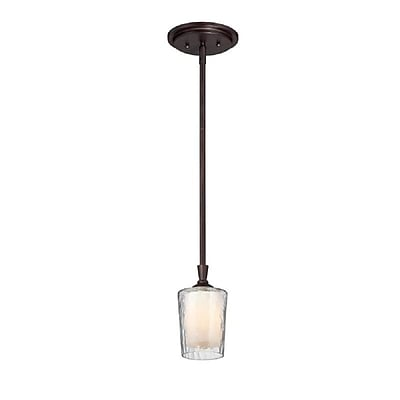 Quoizel ADS1504DC Incandescent Mini Pendant, Dark Cherry