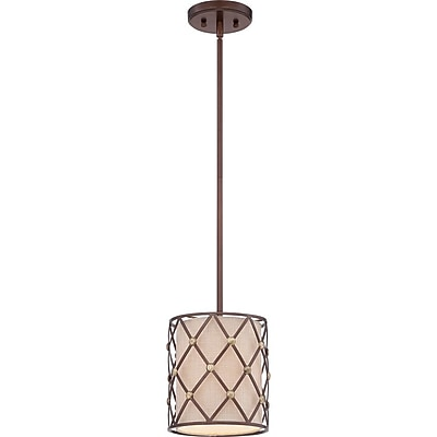 Quoizel BWL1508CC Incandescent Mini Pendant, Copper Canyon