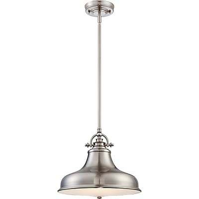 Quoizel ER1814BN Incandescent Pendant, Brushed Nickel