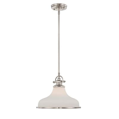 Quoizel GRT2814IS Incandescent Pendant, Imperial Silver