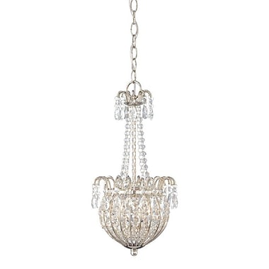 Quoizel JLE2809IS Incandescent Pendant, Imperial Silver
