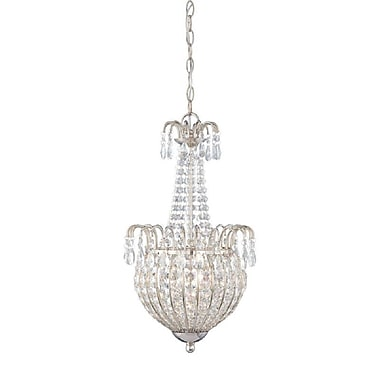 Quoizel JLE2812IS Incandescent Pendant, Imperial Silver