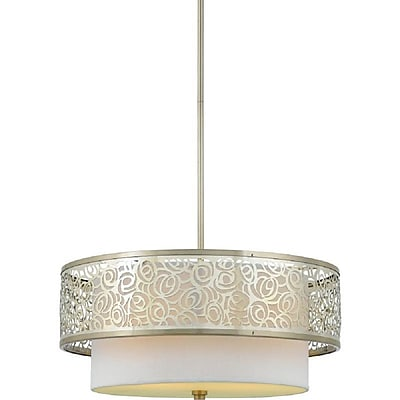 Quoizel JS1820BN Incandescent Pendent, Brushed Nickel