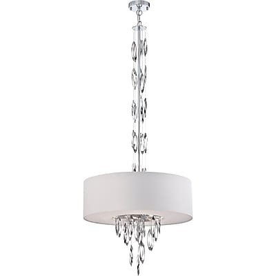 Quoizel PCCS2824C1 Incandescent Pendent, White Shade