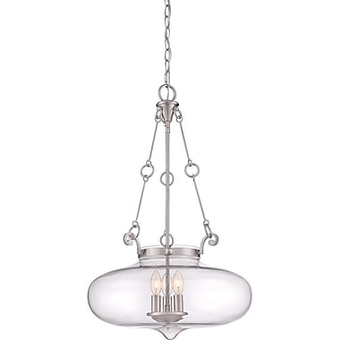 Quoizel QF1781BN Incandescent Pendent, Brushed Nickel