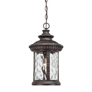 Quoizel CHI1911 Incandescent Post Lantern, Pewter